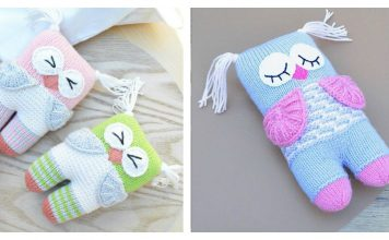 Cute Owl Free Knitting Pattern