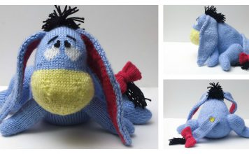 Eeyore Knitting Pattern Free and Paid