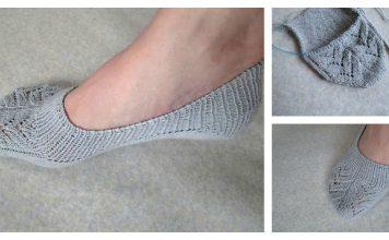 No Show Socks Free Knitting Pattern