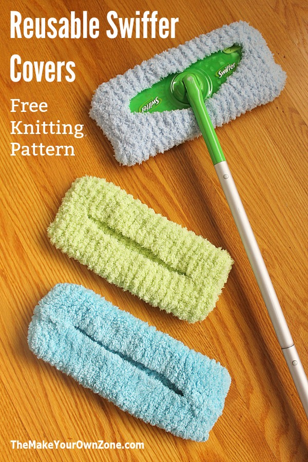 Reusable Swiffer Cover Free Knitting Pattern