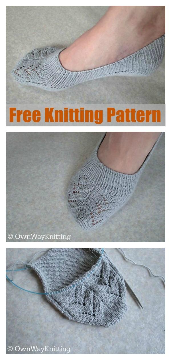 Skimmer Lace Socks Free Knitting Pattern