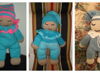 Sleepy Baby Doll Free Knitting Pattern