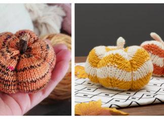 Autumn Pumpkin Free Knitting Pattern
