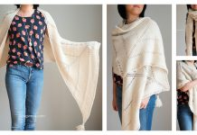 Berkshire Wrap Free Knitting Pattern