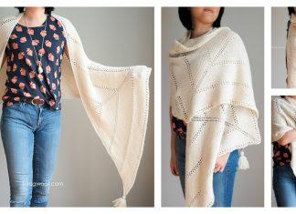Berkshire Wrap Free Knitting Pattern