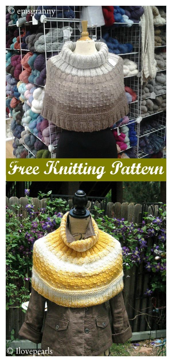 Freeze Warning Cowl Free Knitting Pattern