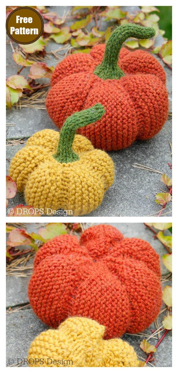 Halloween Pumpkin Free Crochet Pattern