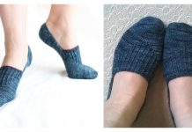 Penne Socks Free Knitting Pattern
