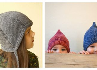 Pixie Hat Free Knitting Pattern