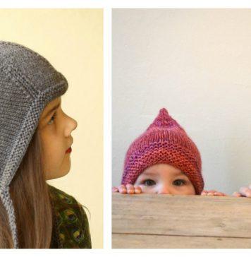 Pixie Hat Free Knitting Pattern
