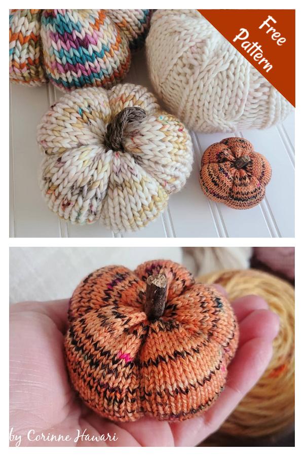 Pumpkin Free Knitting Pattern