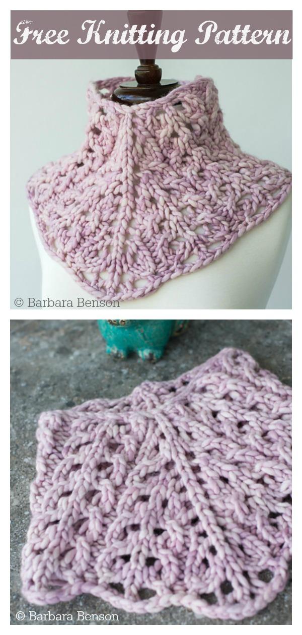 Rasta Cowlette Free Knitting Pattern