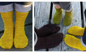 The Rye Socks Free Knitting Pattern