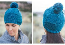 Weaver's Beanie Hat Free Knitting Pattern