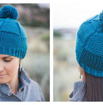 Weaver's Beanie Hat Free Knitting Pattern