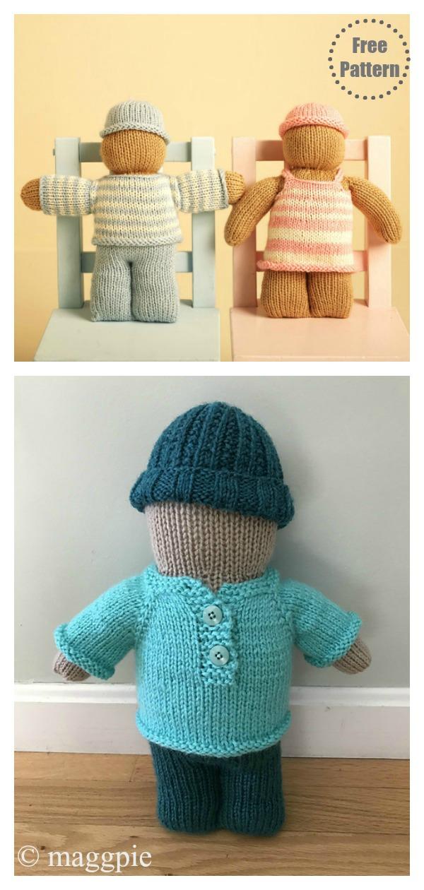 Buddy Doll Free Knitting Pattern