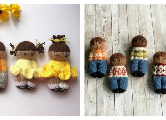 Comfort Dolls Free Knitting Pattern
