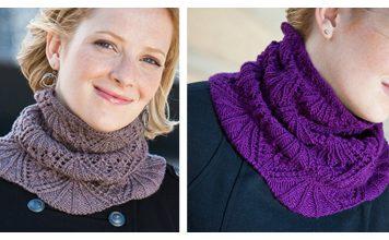 Eleanor Lace Cowl Free Knitting Pattern