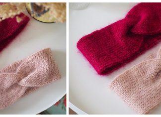 10 Twist Headband Free Knitting Patterns