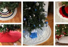 Christmas Tree Skirt Free Knitting Pattern