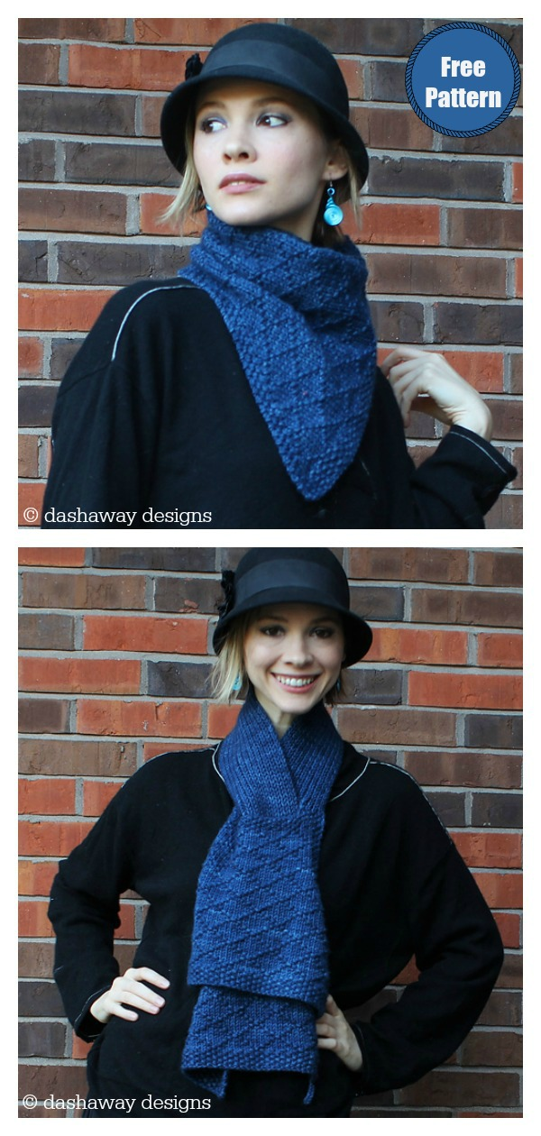 Close to You Multi-Wear Scarf Free Knitting Pattern