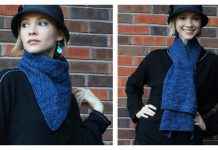 Multi-Wear Scarf Free Knitting Pattern