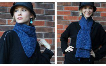 Multi-Wear Scarf Free Knitting Pattern