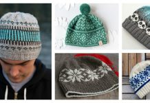 Fair Isle Hat Free Knitting Pattern