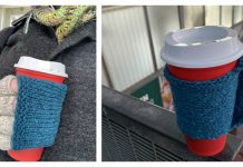 FingerFull Coffee Glove Free Knitting Pattern
