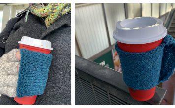 FingerFull Coffee Glove Free Knitting Pattern