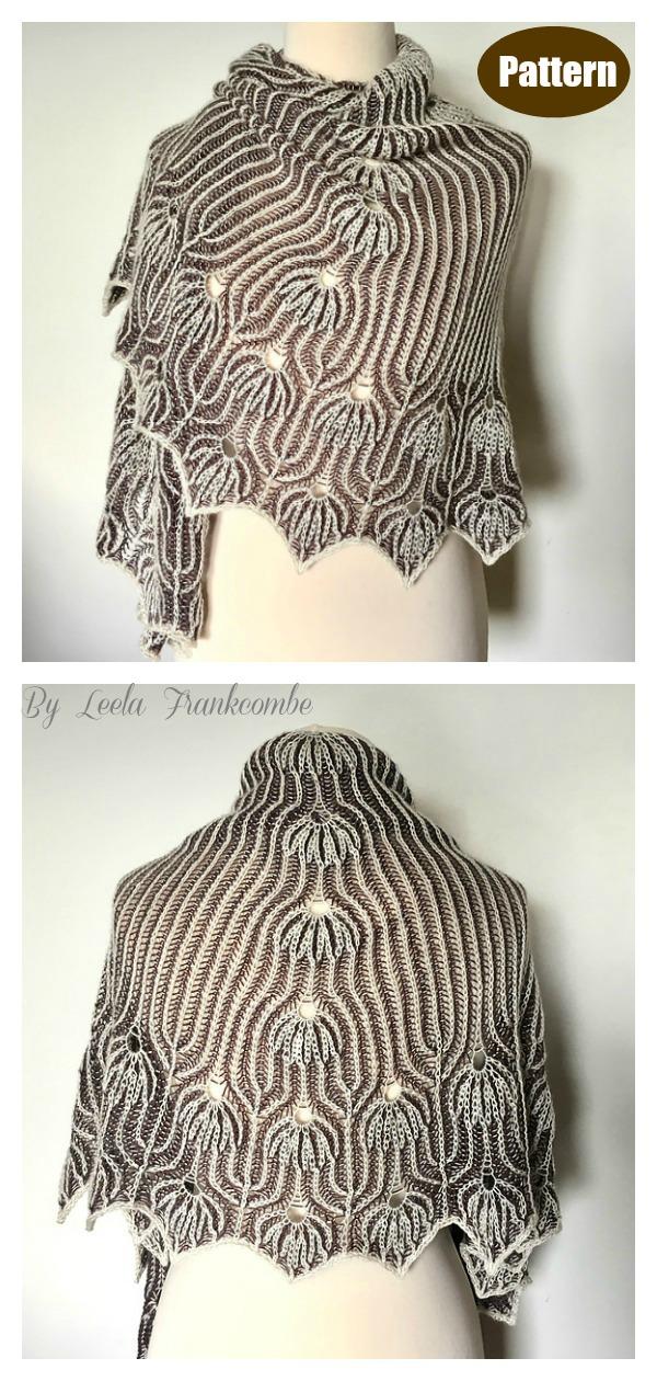 Joyous Lace Shawl Knitting Pattern