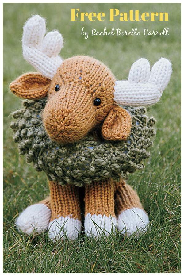Juniper Moose Free Knitting Pattern