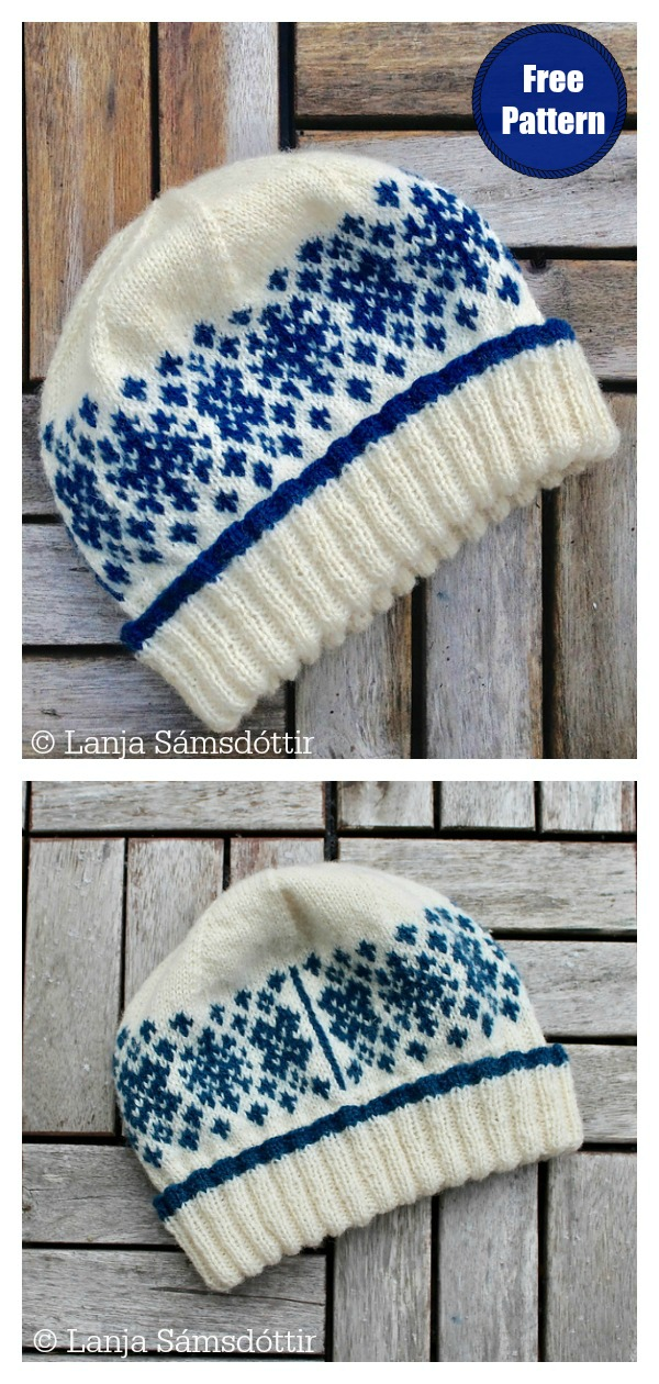 Skadi Wishes for Snow Fair Isle Hat Free Knitting Pattern