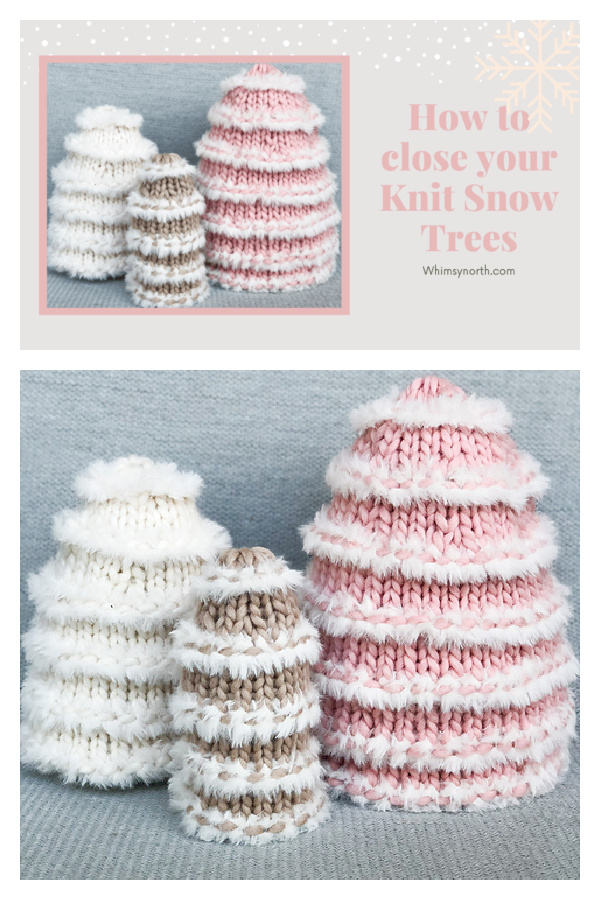 Snow Trees Free Knitting pattern