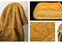 Square Dance Blanket Free Knitting Pattern