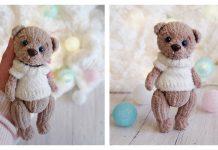 The Plush Bear Free Knitting Pattern