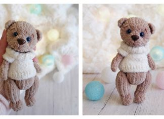 The Plush Bear Free Knitting Pattern