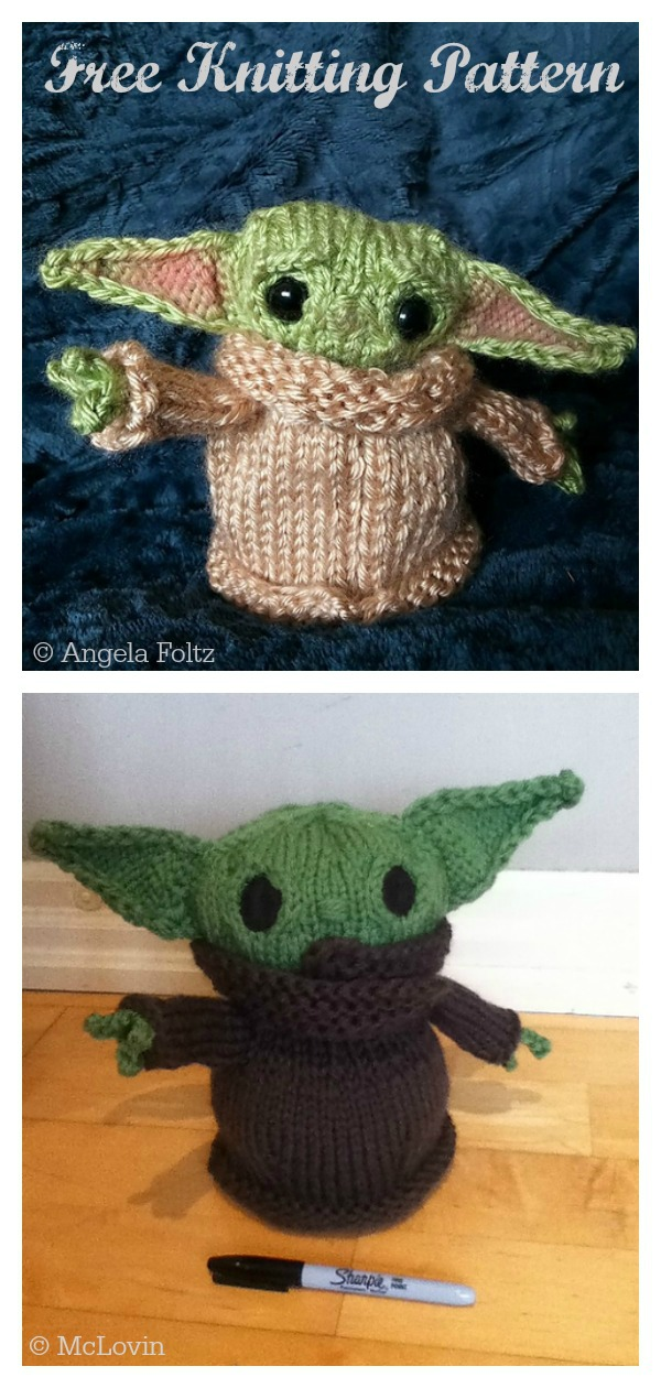 Baby Yoda Free Crochet Pattern - Cool Creativities | 1260x600