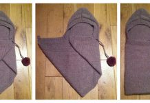 Baby Snuggle Wrap Free Knitting Pattern