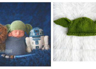 Baby Yoda Hat Free Knitting Pattern