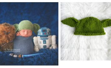 Baby Yoda Hat Free Knitting Pattern