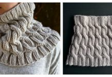 Chunky Cable Cowl Free Knitting Pattern