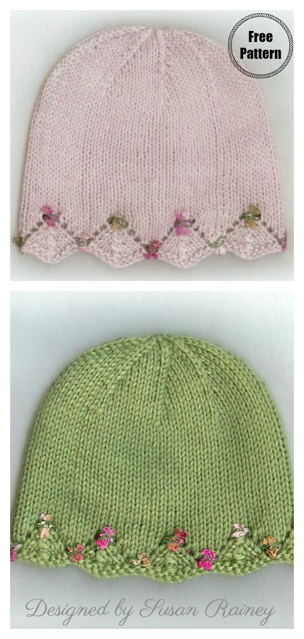 One Day Baby Hat Free Knitting Pattern