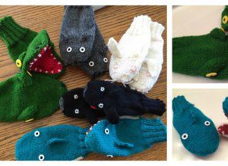 Puppet Mittens Free Knitting Pattern