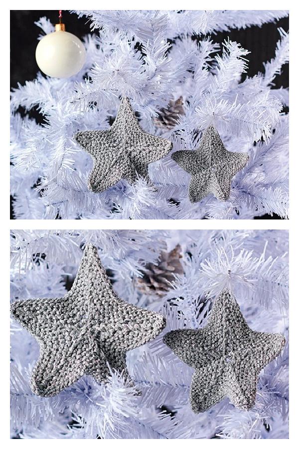 Star Ornament Free Knitting Pattern