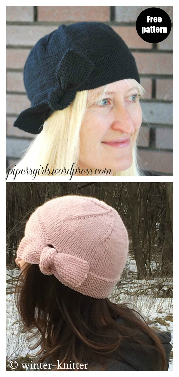 The Inaugural Hat Free Knitting Pattern