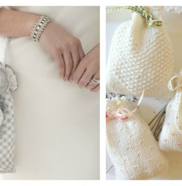 Wedding Bag Free Knitting Pattern