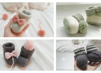Bon Baby Booties Free Knitting Pattern