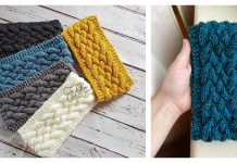 Cable Headband Free Knitting Pattern