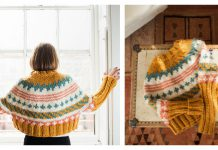 Panda Fair Isle Hat Free Knitting Pattern